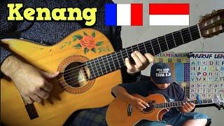 Download Kenang (Alip Ba Ta 🇮🇩) meets FRENCH 🇫🇷 flamenco gipsy guitarist [FINGERSTYLE GUITAR COVER]