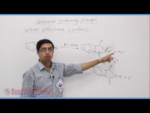 Compound Containing Nitrogen Part 1 Chemistry Board video lecture By Rao IIT Academy