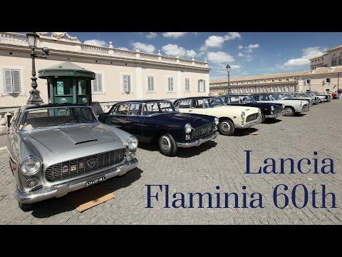 Le Flaminia sulla via Flaminia - Lancia Flaminia 60th Anniversary Tour 2017