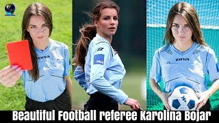 Meet Beautiful Football referee Karolina Bojar from Poland who is famous now after a match in Krakow