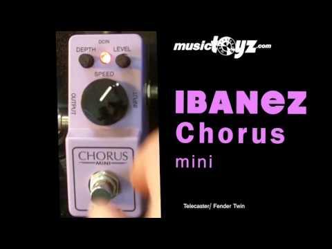 Ibanez Chorus Mini Guitar Pedal