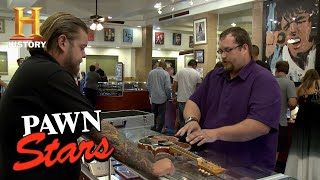 Pawn Stars: Seller Struggles To Verify Texas Playboys
