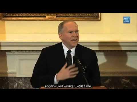 Menggemparkan!! Direktur CIA John Brennan Kagum Dgn Islam (TEKS INDO TEKAN TOMBOL TRANSLATE)
