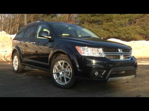 2011 Dodge Journey Test Drive