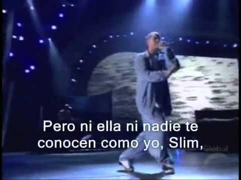 Eminem  Stan Traducida y Subtitulada al Español Live Grammy