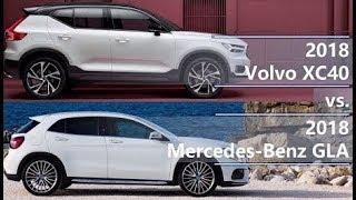 Spec comparison Volvo XC40 Vs Mercedes Benz GLA