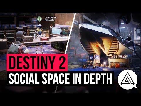 DESTINY 2 | NEW Social Space 'The Farm' In...