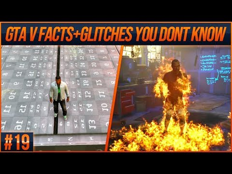 GTA 5 Facts and Glitches You Don't Know #19 (From Speedrunners)