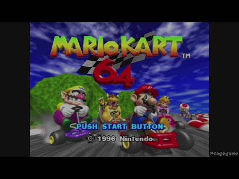 Mario Kart 64 - Wii U Virtual Console Gameplay - All 32 Tracks - eshop EU [ HD ]