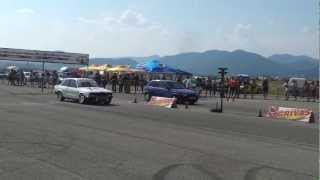 BMW e30 Turbo vs Corsa c20xe Stara Zagora BULGARIA