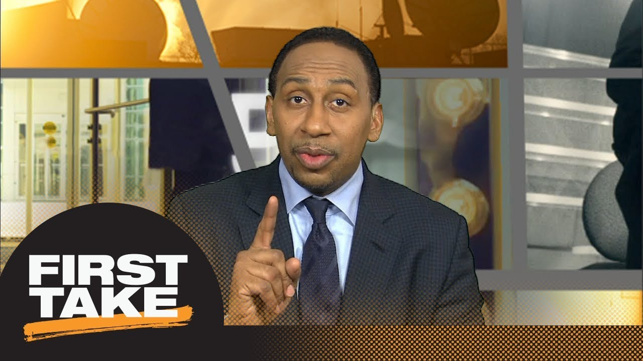 Stephen A. Smith: Rockets made Steph Curry 'feel them' in Game 2 | First Take | ESPN