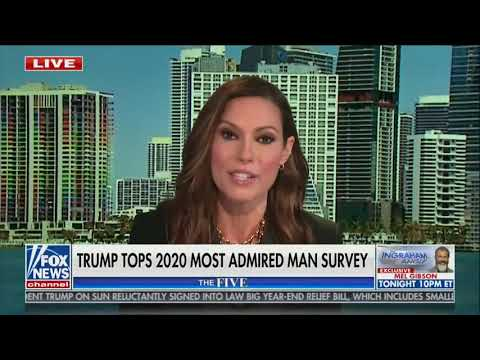 """WATCH: Lisa Boothe reacts to Donald Trump being the """"most admired man"""" in 2020"""