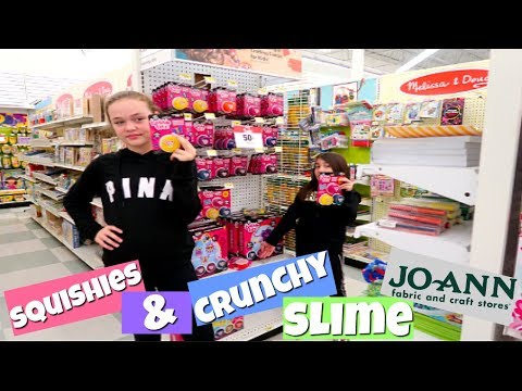 SQUISHIES & CRUNCHY SLIME AT JOANN FABRICS!
