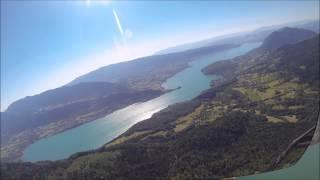 Parapente - lac Annecy
