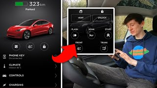 Everything your Tesla Model 3 can do with the Tesla App