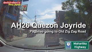 Pinoy Joyride - AH26 Pagbilao to Old Zigzag Road/Bitukang Manok Junction / Quezon Joyride