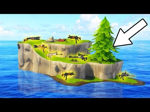 SECRET LEGENDARY LOOT ISLAND IN FORTNITE!