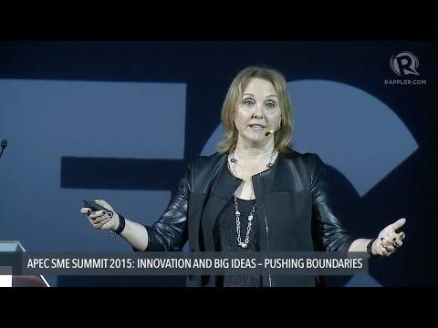 APEC SME SUMMIT 2015: Josette Sheeran on Asia as innovation hub