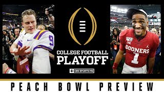 Peach Bowl Preview: #1 LSU vs #4 Oklahoma | College Football Playoff | CBS Sports HQ