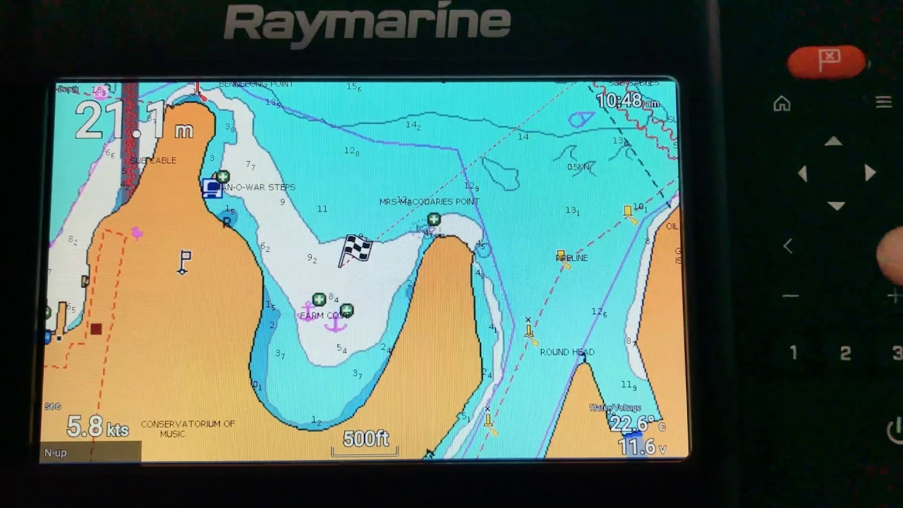 How to use Navionics Charts on the Raymarine Element running Lighthouse  Sport