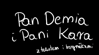 Pan Demia i Pani Kara (piosenka ukulele z bazgrołkami i tekstem)