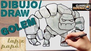 Como Dibujar Al Mega Caballero Clash Royale How To Draw Mega