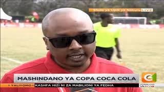 Mashindano ya copa coca cola mjini Nakuru
