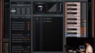 Addictive Drums 1.5 - Map Window