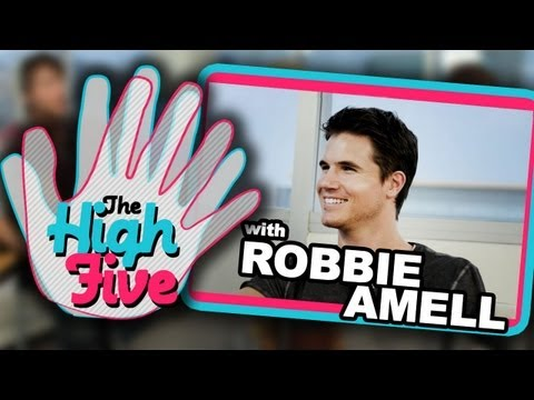 Robbie Amell: The High Five  Cars, Auditions & Ketchup Chips