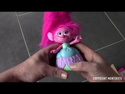 Hasbro, Trolls, C1305EU5 Hair Raising Poppy
