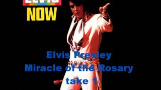 ELVIS MIRACLE OF THE ROSARY TAKE 1