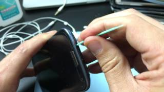 Simple Fix to HeadPhones Working on One Side or Only Works when Twisting Headphone Jack