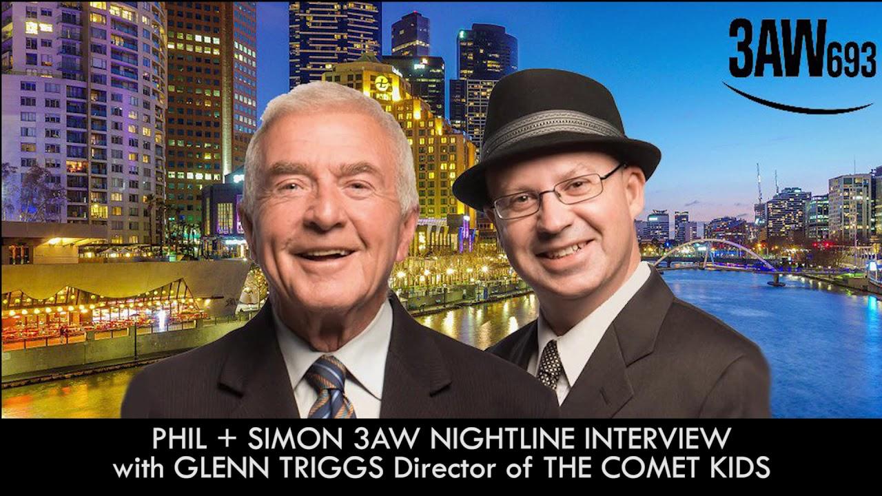 Radio Interview with Director Glenn Triggs - THE COMET KIDS - 3AW Nightlight