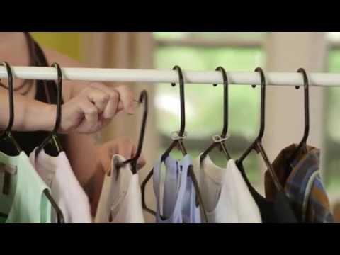 Cách treo quần áo tiết kiệm không gian trong tủ – Mẹo vặt gia đình