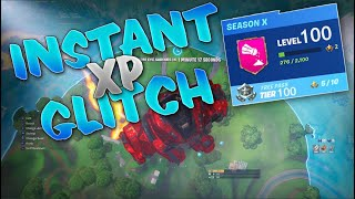 *INSTANT LEVEL 100 & WIN GLITCH* How to get MAX RANK in FORTNITE SEASON 10 - UNLIMITED XP (SEASON X)