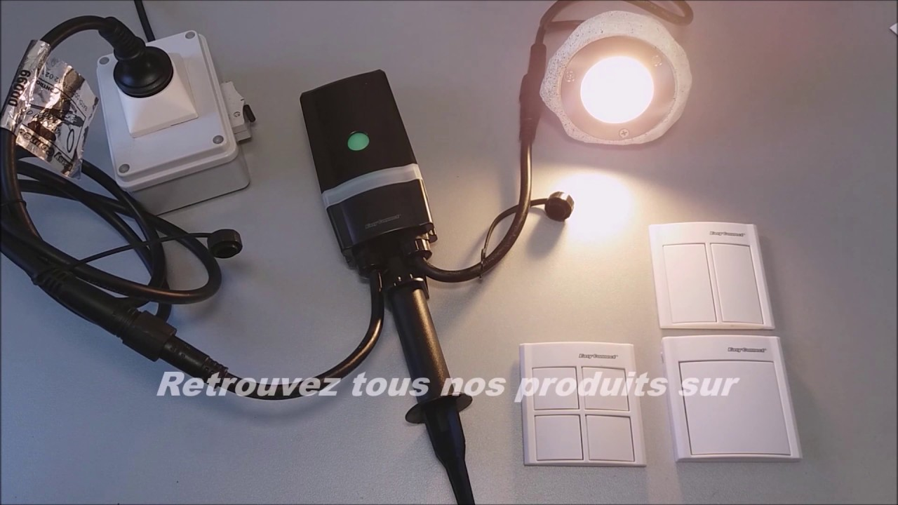 Easy Connect Programation Kit Domotique Réf67103 Eclairage Jardin Exterieur