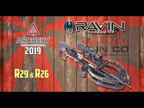 Ravin R29 & R26 Crossbows at ATA Show 2019