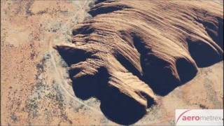 Uluru - Ayers Rock Outback Australia 3D animation generated from aerial photogrammetry