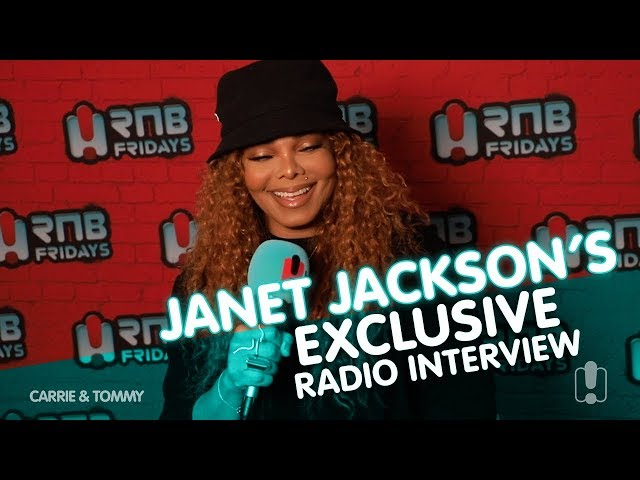 Janet Jackson's Exclusive Radio Interview | Carrie & Tommy