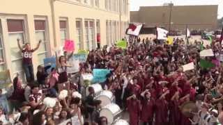 Lee High School Lip Dub 2014 | Katy Perry - Roar | Baytown TX | Surprise Ending #baytowndancers
