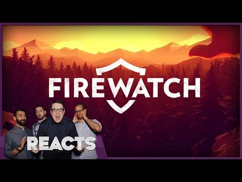 Firewatch Review - Kinda Funny Reacts