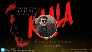 Kaala Teaser Theme (Whistle Bgm) - Trap Remix 🔥| Rajinikanth | Pa Ranjith | Santhosh Narayanan