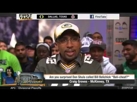 ESPN First Take Don Shula called New England Patriots