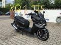 Daelim XQ 1 125 - Walkaround, Details, LED Lights, Helmet Storage
