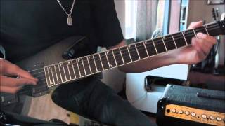 Judas Priest - A Touch Of Evil (solo cover)