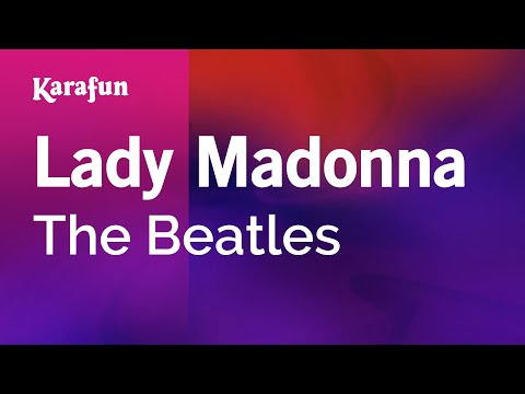 Karaoke Lady Madonna - The Beatles *