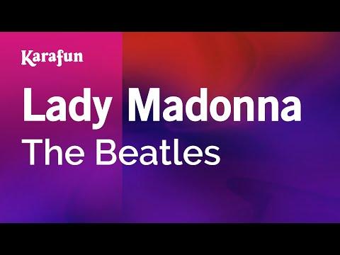 Karaoke Lady Madonna - The Beatles *