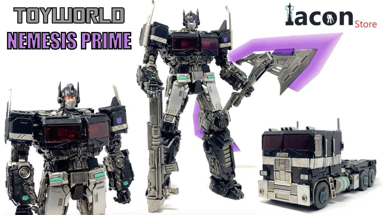 ToyWorld TW-F09 Commander of Tactical Operation Nemesis Prime Review by PrimeVsPrime