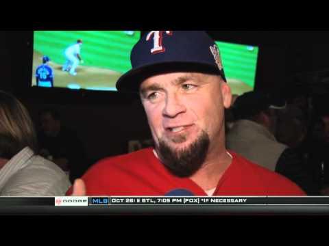 Rangers fan Interviews for Fox Sports Southwest