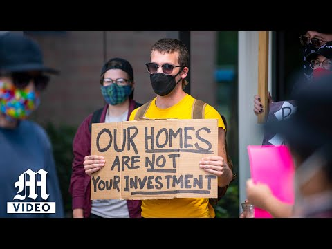 Protest against Evictions - August 19, 2020